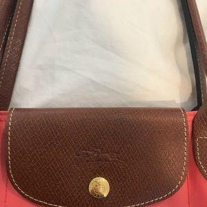 c9c9029640 Longchamp Bags - Flower (color) Le Pliage Small Handbag